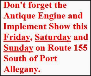 7-27 Antique Engine Show