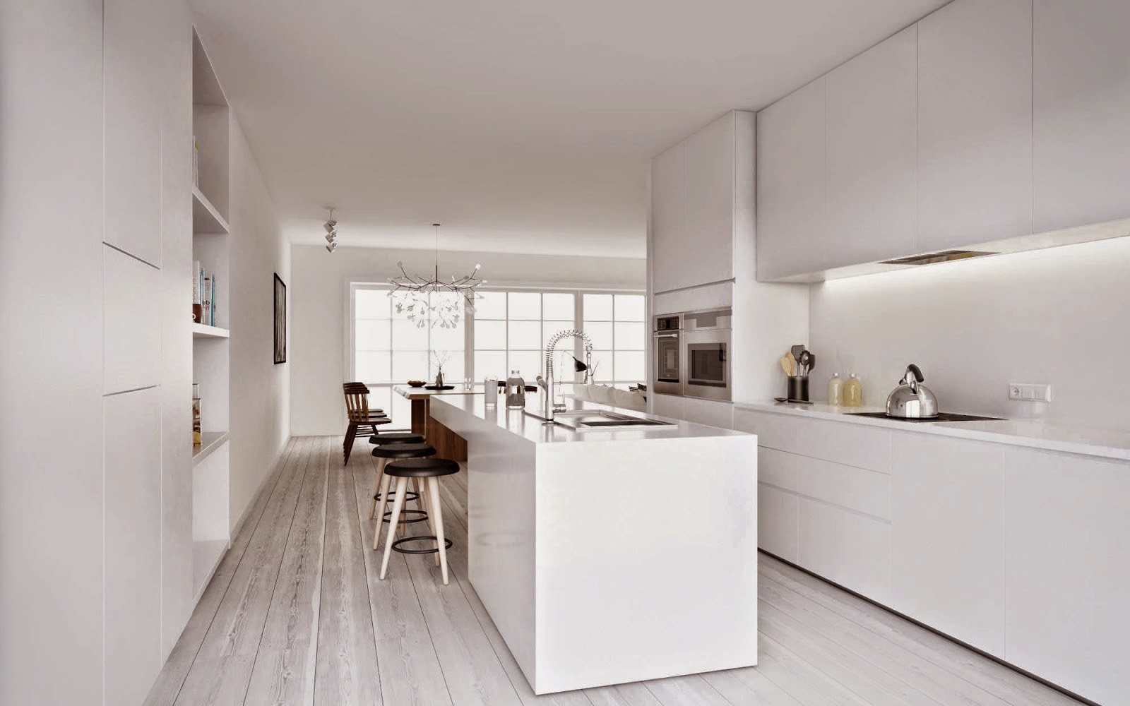Examples of Minimalist Kitchen Simple