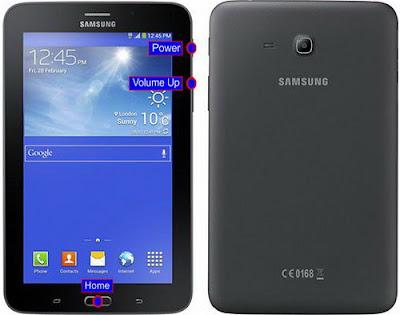 Cara Reset Samsung GALAXY Tab 3 V SM-T116NU