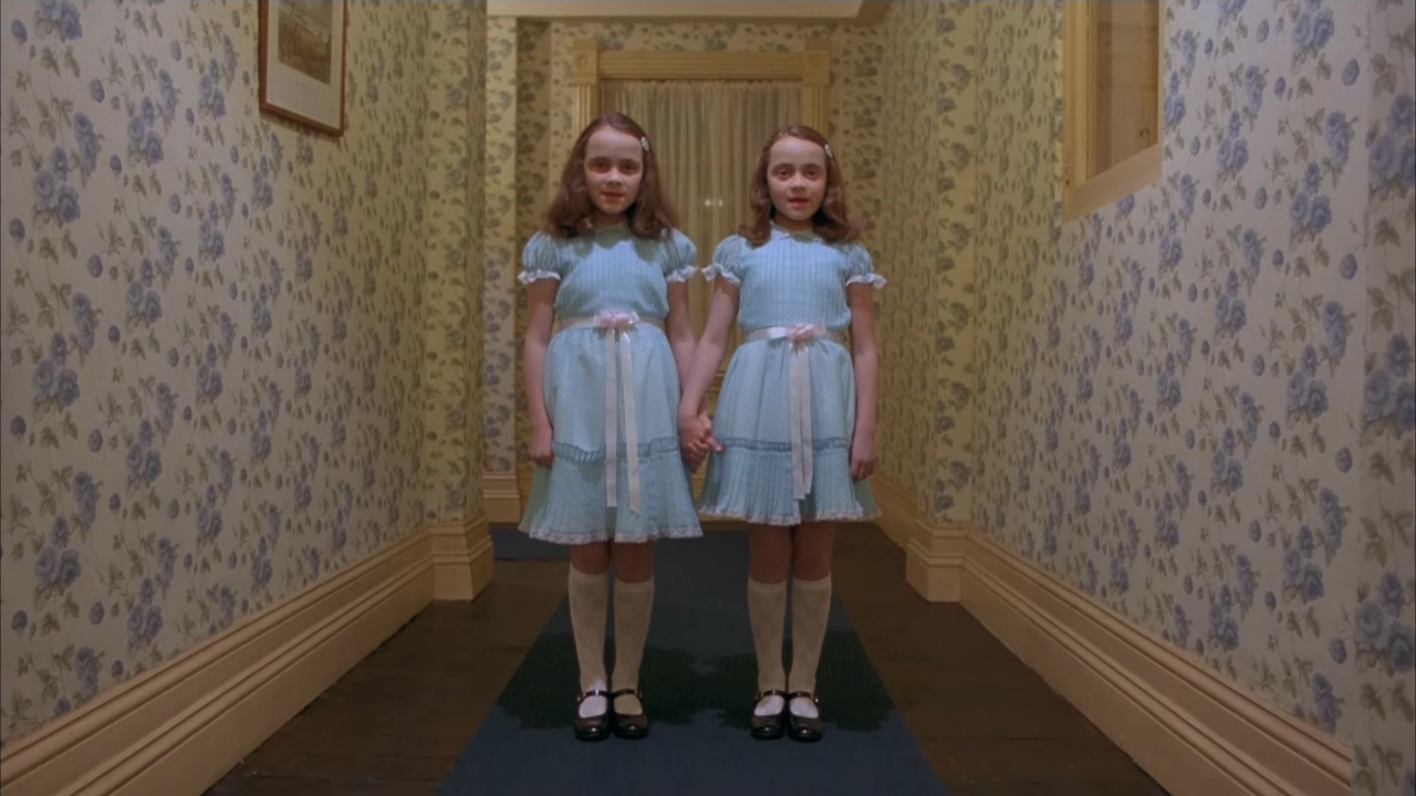 Image result for stanley hotel twins
