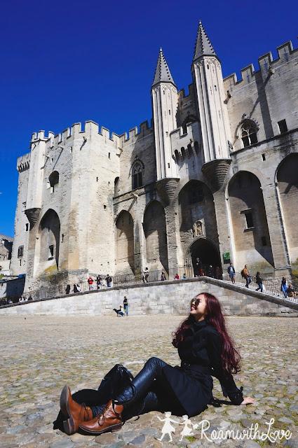 Honeymoon, review, france, ทริป, รีวิว, ฮันนีมูน, avignon, อาวิญอง,palais des papes,พระราชวังพระสันตะปาปา