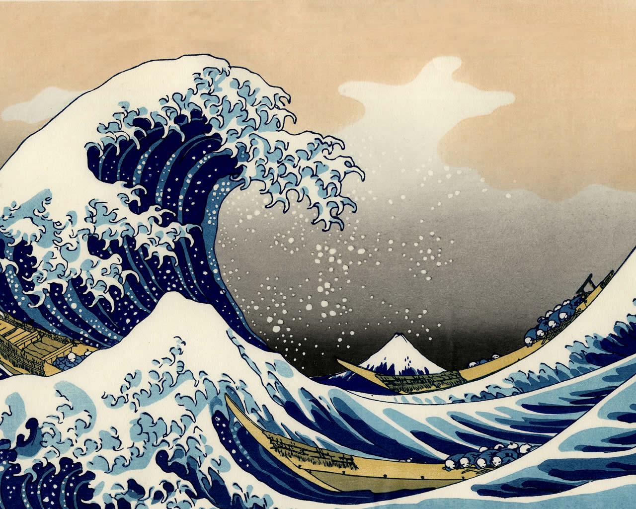 L'onda - Katsushika Hokusai