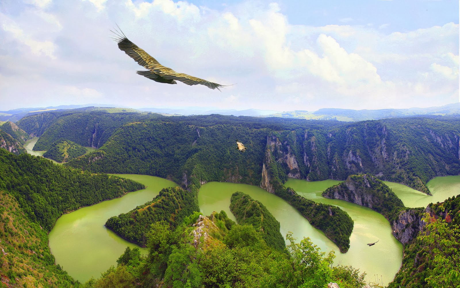 Uvac canyon, Serbia
