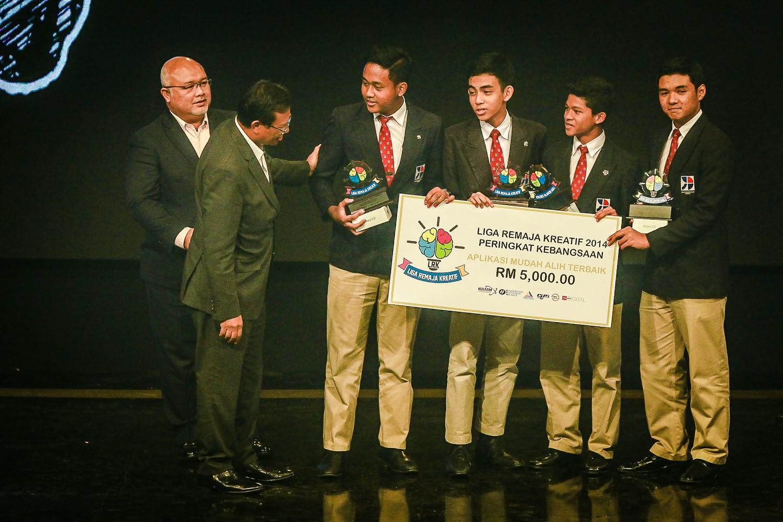 Kolej Yayasan Saad Johan Aplikasi Mudah Alih Liga Remaja Kreatif 2014