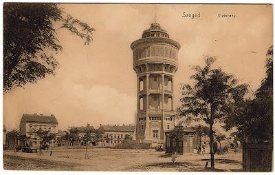 Szent István tér- Víztorony