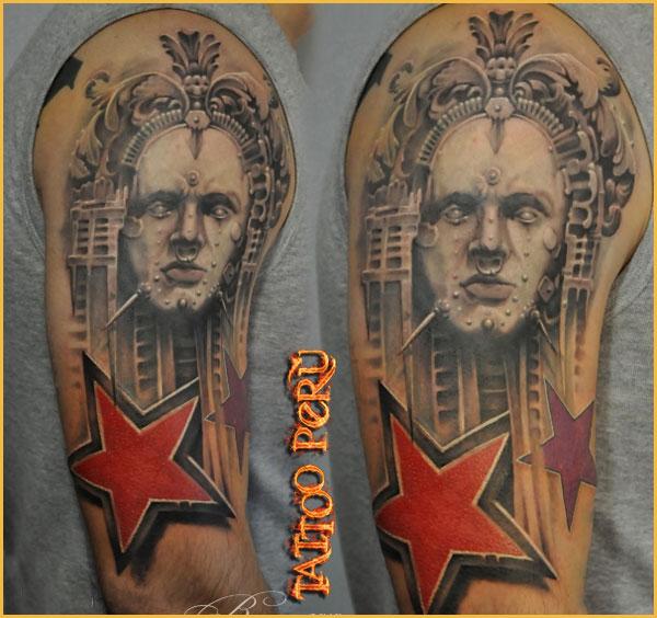 las mejores Fotos de Tatuajes, Diseños de Tatuajes y variedad de Tattoos. También encontrarás Catálogos de Tatuajes y Tribales 01_estrellas