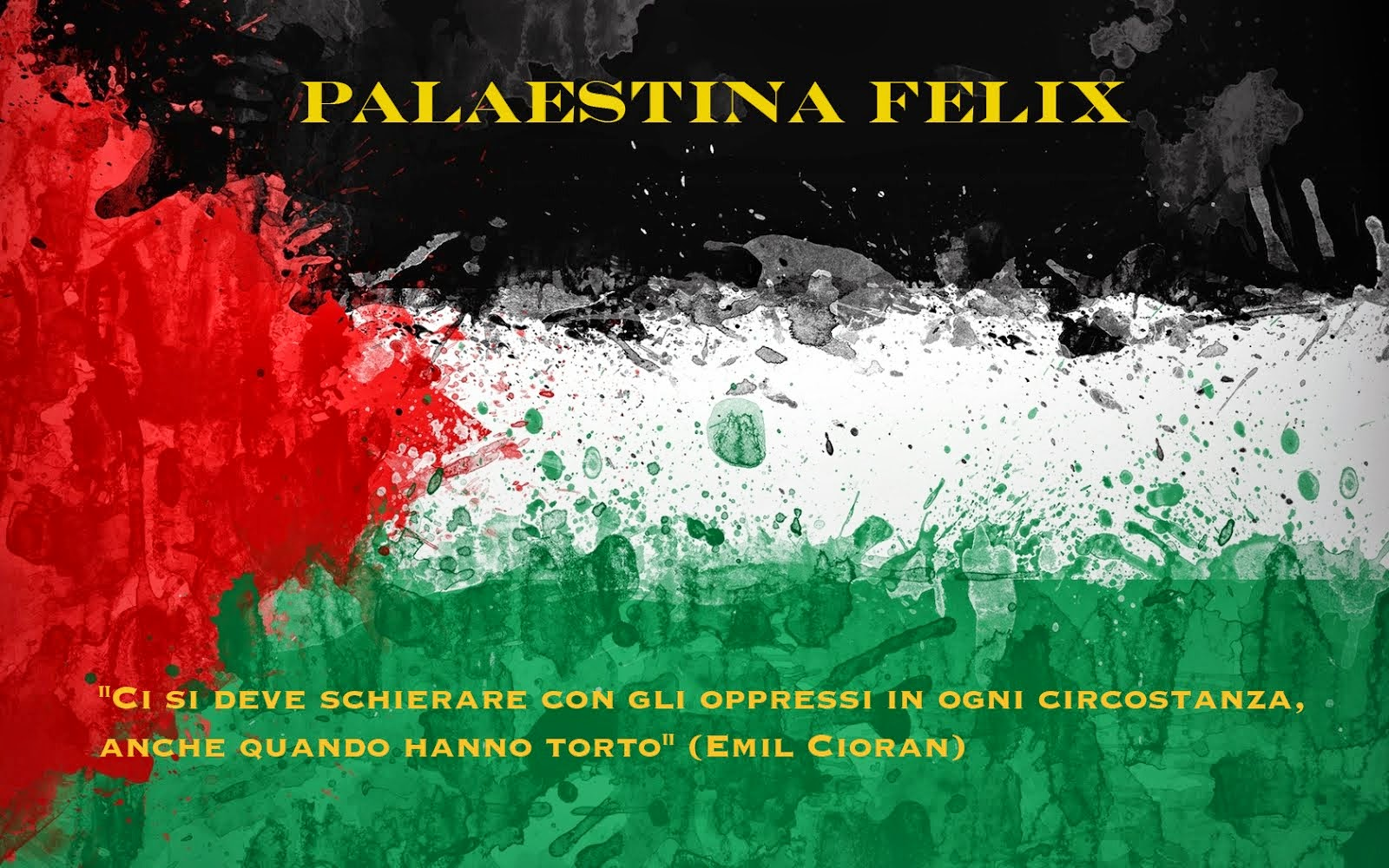 Palestina Felix Blog