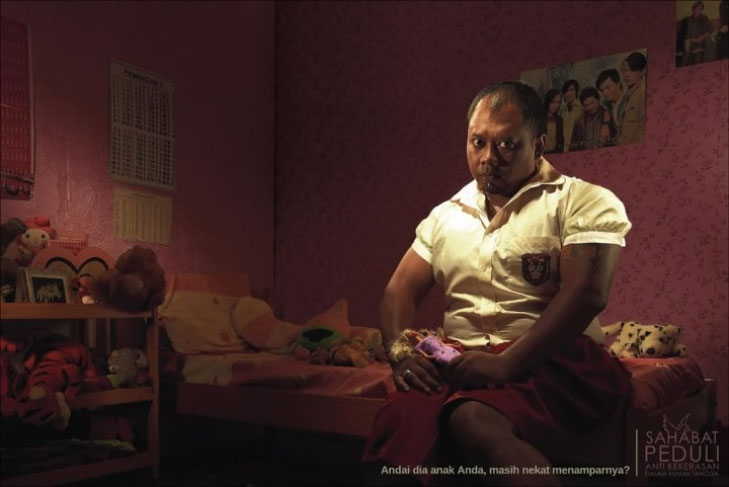 Potret Kekerasan Pada Anak yang Berhasil Diabadikan
