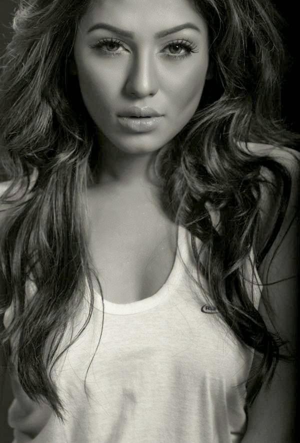 Bangladeshi Model Nusrat Faria Mazhar