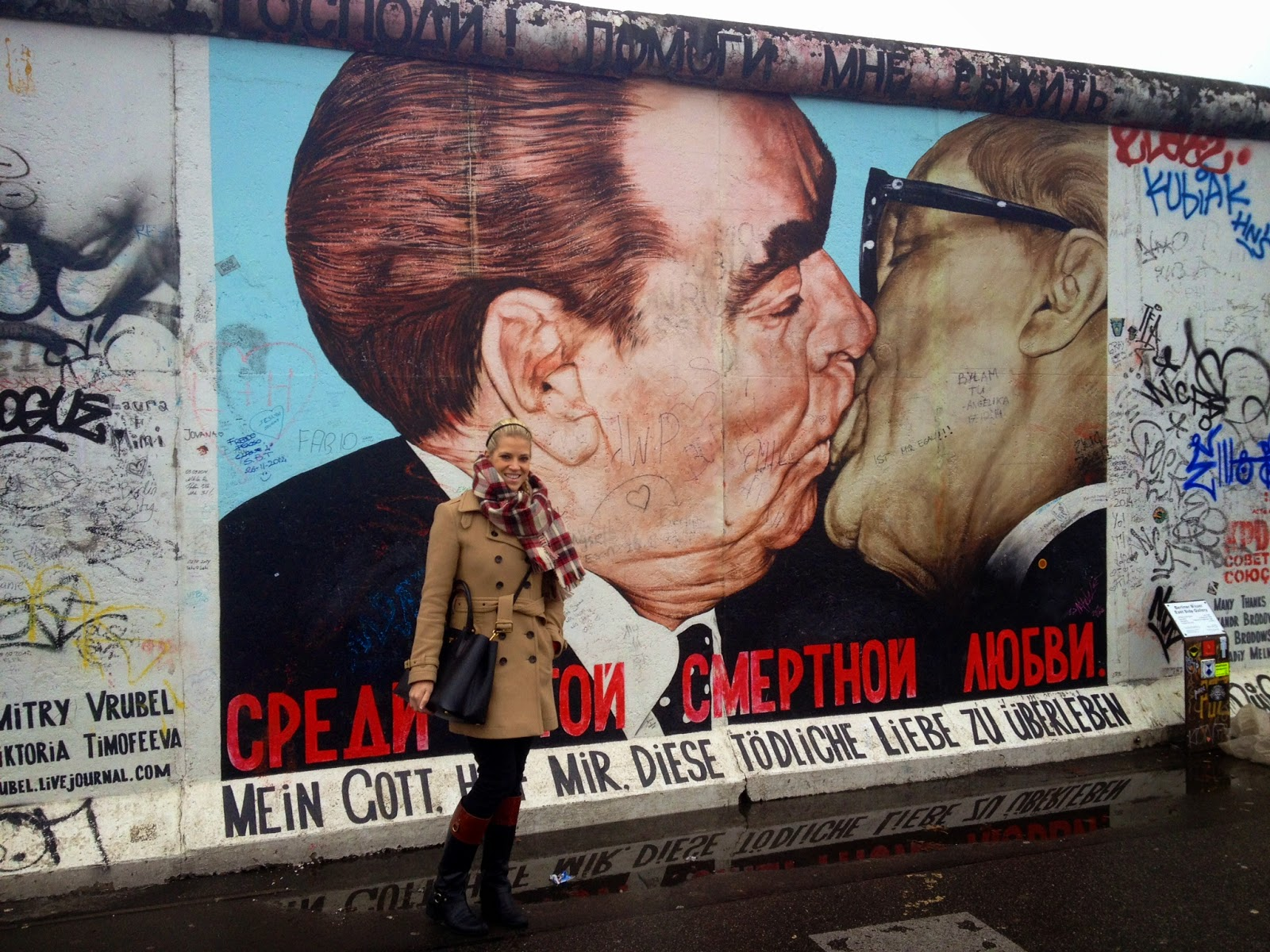 East Side Gallery Deadly Love