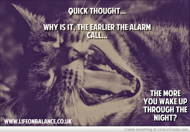 Quick thought... on sleep