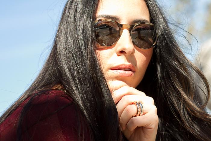 Tendencias en Gafas de Sol estampado khaki camuflaje Nueva Temporada