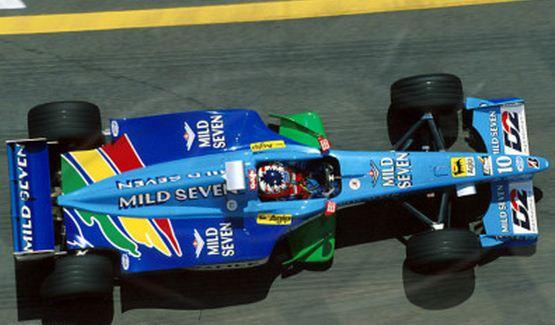 Benetton, equipe histórica da Formula 1 de 1999 - by pordentrodosboxes.blogspot.com