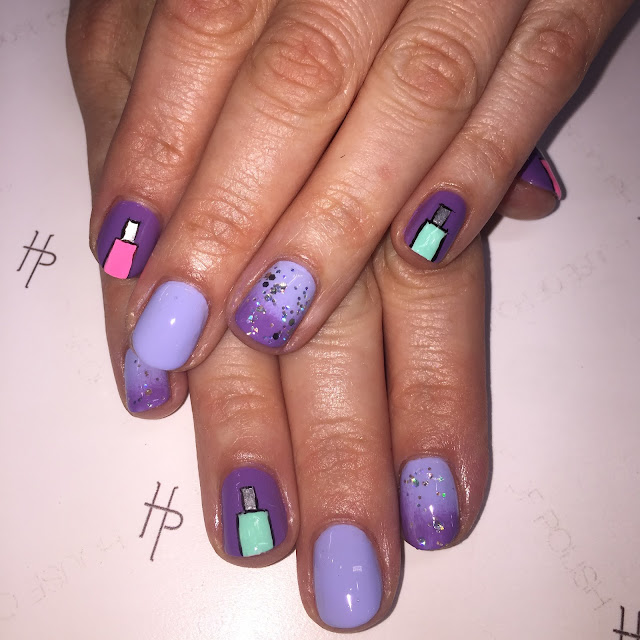 The House of Polish, nail salon, nail art, nail polish bottles, Zoya, Color Club, NCLA, glitter ombre, Nikki Diamond, Frania Hernandez, nail polish, nail lacquer, nail varnish, #ManiMonday, manicure