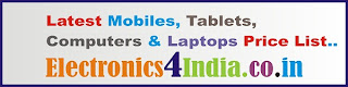 Latest Mobiles, Tablets and Laptops Price in India