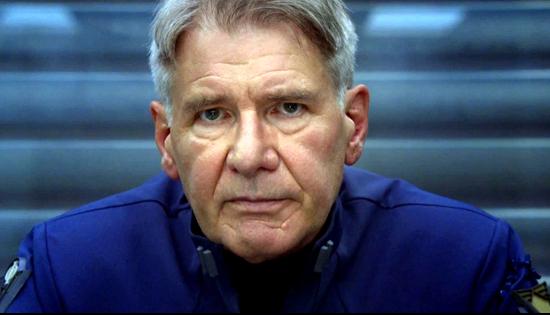 Harrison ford as colonel graff