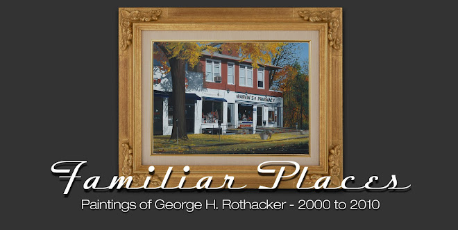 Familiar Places - Paintings of George H. Rothacker