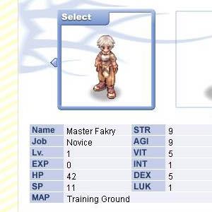 03 - Ragnarok Online International - Master Fakry - Swordman