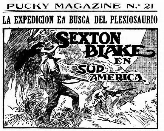 sexton blake en sudamerica