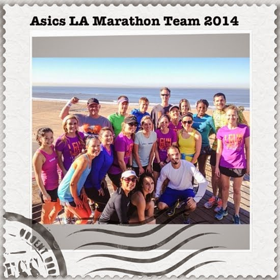 Proud #ASICS LA Marathon Finisher