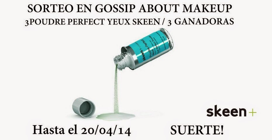 sorteo en gossip about makeup
