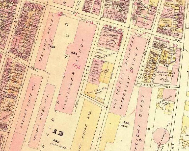 And This Is Good Old Boston: Lost Train Stations: Old Colony
