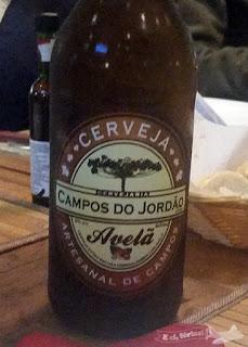 Cerveja Artesanal Campos do Jordão de Avelã