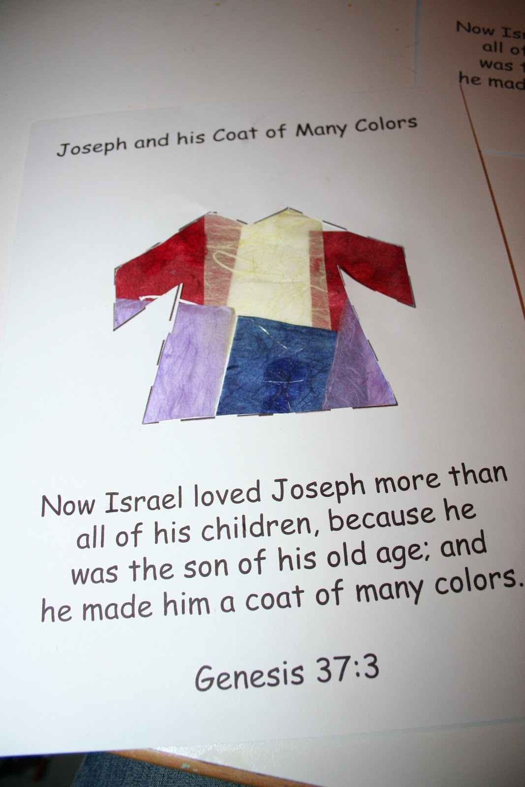 our country road bible activity book joseph and the coat of many