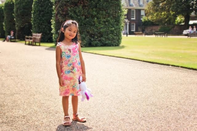 Imoga Lace Dress | Kensington Gardens | Chichi Mary Blog