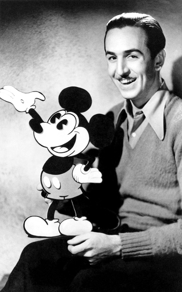 a biography of walter elias disney better known as walt disney the founder of disney corporation The man behind all of these characters is walt disney walt was one of the greatest influences to american entertainment his childhood abuse and home life led him to pursue a standard of perfection to animation as well as create one of the most well known amusement parks in the world walter elias.
