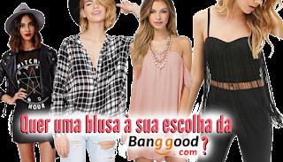 Sorteio: Quer uma blusa da Banggod?