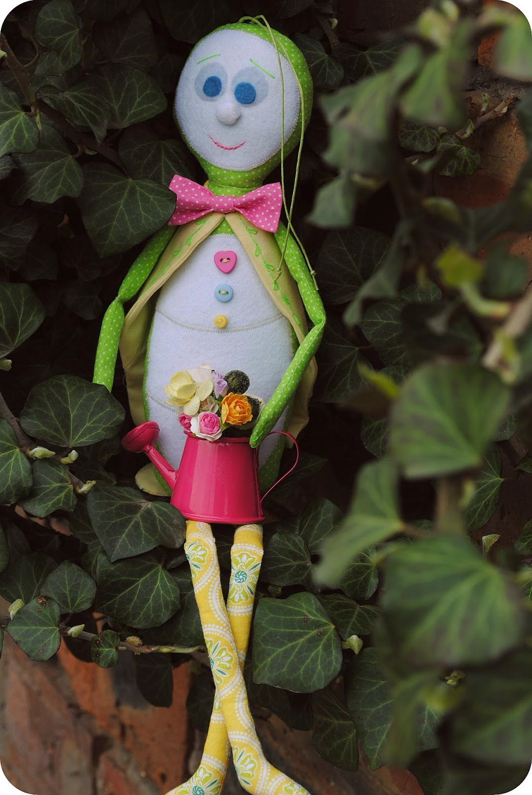 newborn, kids, baby, gift, sewing, green, yellow, girl, son, kids, buy, handmade, natural, fairy, fairies, beautiful, doll, cotton, house, ivy, grasshopper
