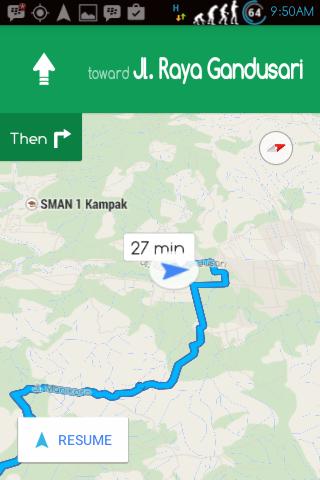 Cara menggunakan Navigation Shorcut 4