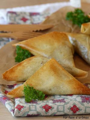 Samoussas aux sardines