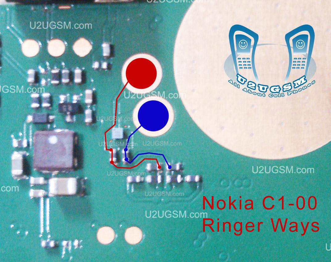 Nokia c1-00 Ringer
