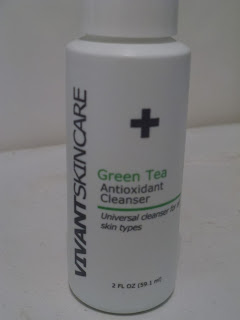 Green tea - Antioxidant cleanser - Vivant skincare - review
