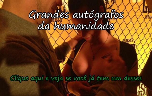 GRANDES AUTÓGRAFOS DA HUMANIDADE