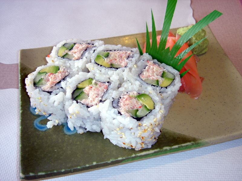 California Roll Recipe |Japanese Food Recipes