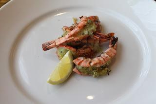 Garlic Prawns, Starters, restStarters, restaurant review, Marriott Hotel, Waltham Abbey, Essex, lbloggers, fdbloggers,