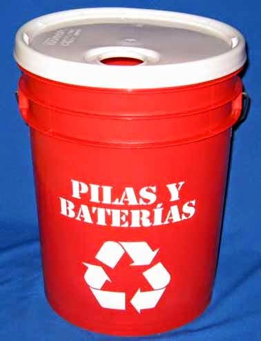 Ecosasmarket contenedores de reciclaje cu l es el for Tamanos de pilas