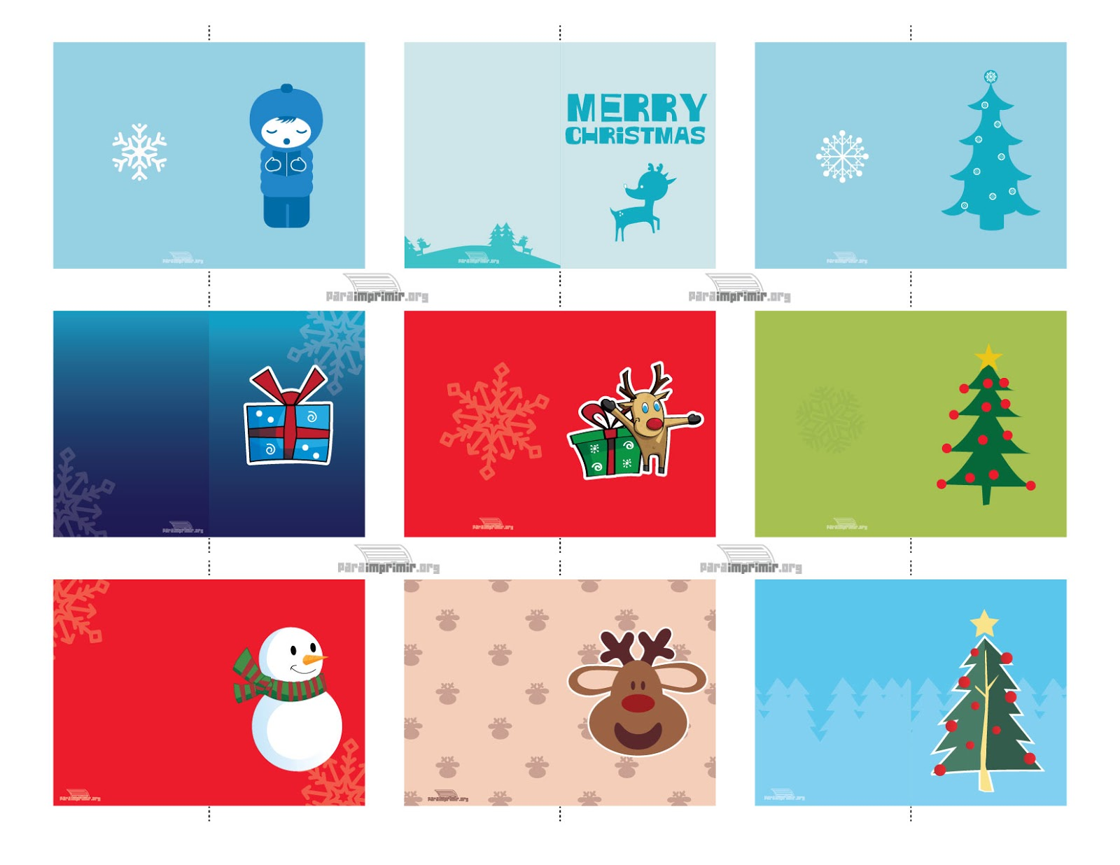 ♥Feliz Navidad-Merry Christmas♥: Tarjetitas