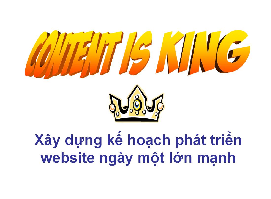 viet noi dung - phat trien website - kiem tien - tang traffic tu seo google
