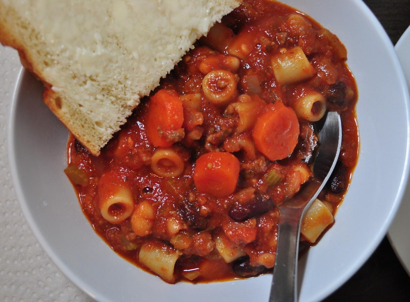 My Tiny Oven A Copycat Version Of Olive Garden S Pasta E Fagioli Soup
