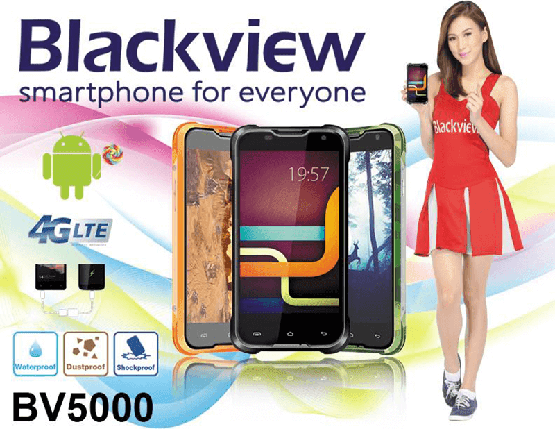 Blackview BV5000 Rugged And 5,000 mAh