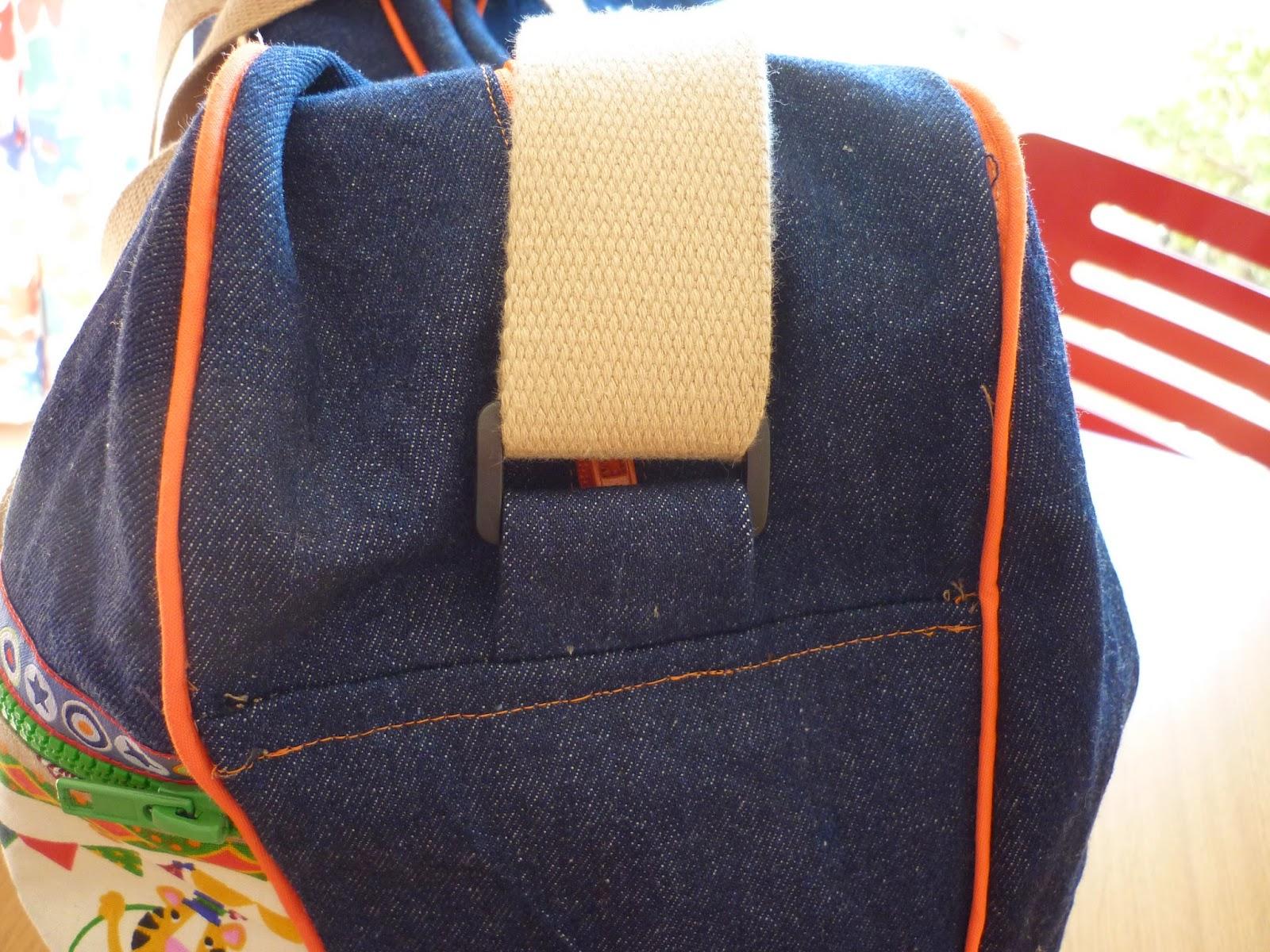 willy fog cosiendo y aprendiendo bolso pañalera modistilla de pacotilla tejano bebé
