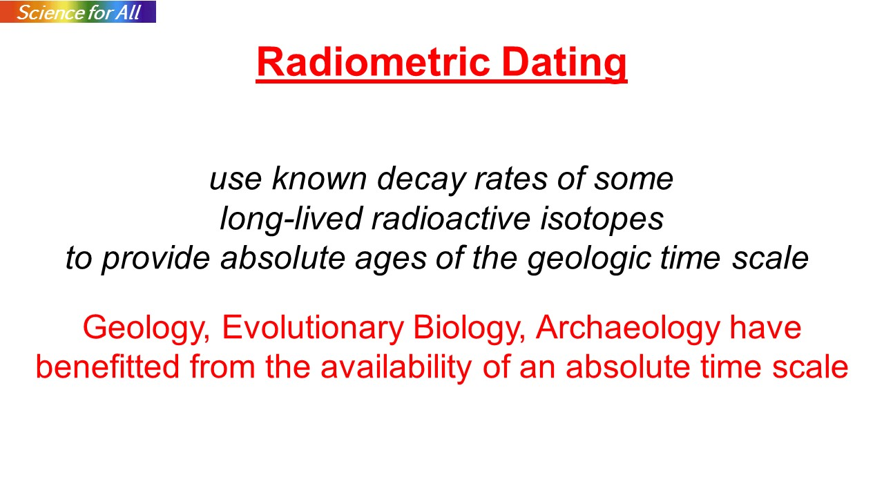 Define radioactive isotope dating