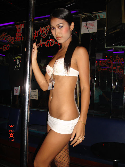 Pattaya is full of lady boys, fem boys, gay's and transexuals