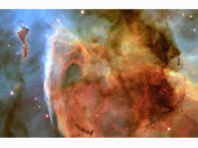 Nébula Carina - Fuente: NASA