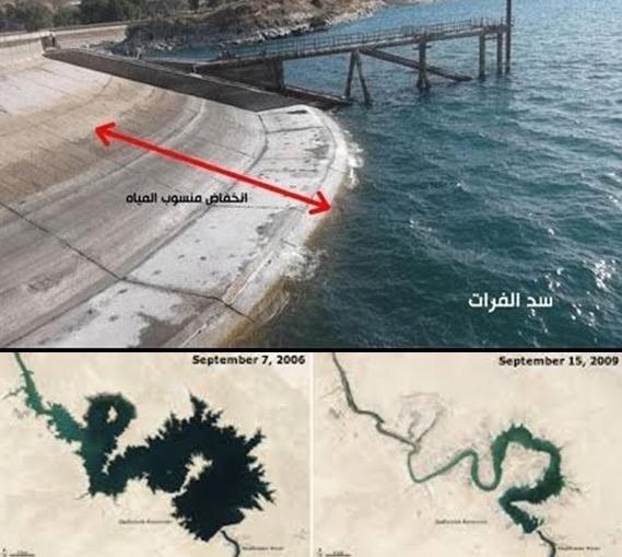 Bukti Sungai Eufrat semakin mengering, tanda kiamat semakin dekat
