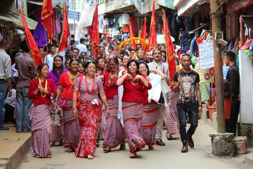 Phulpati - Fulpati celebration  2014 mirik